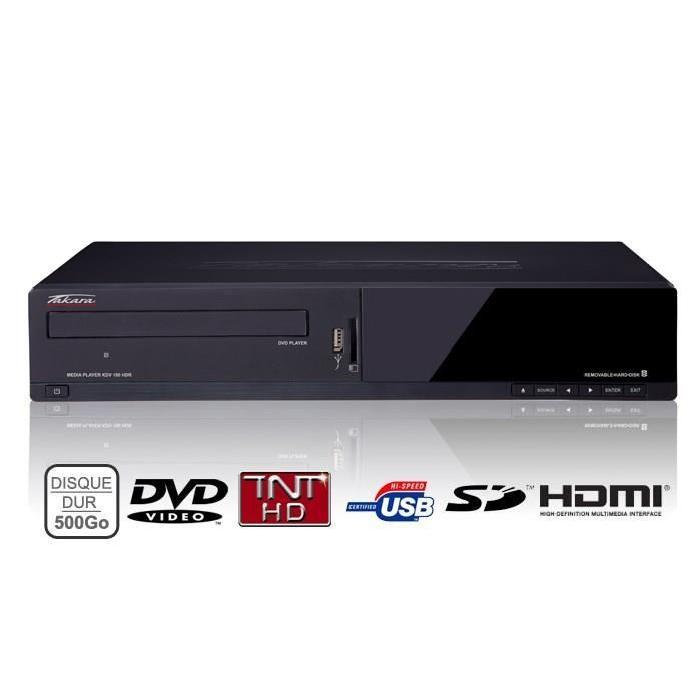 enregistreur dvd hd