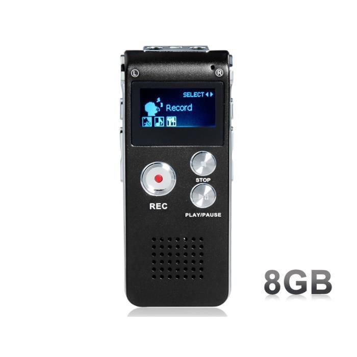 enregistreur numérique vocal
