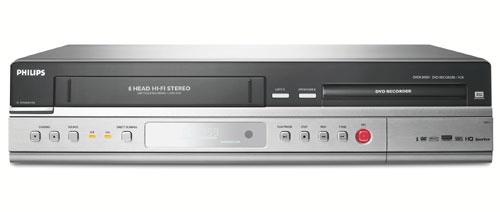 enregistreur vhs dvd