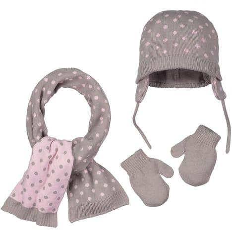ensemble bonnet echarpe gants fille