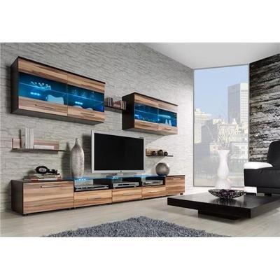 ensemble meuble tv bois