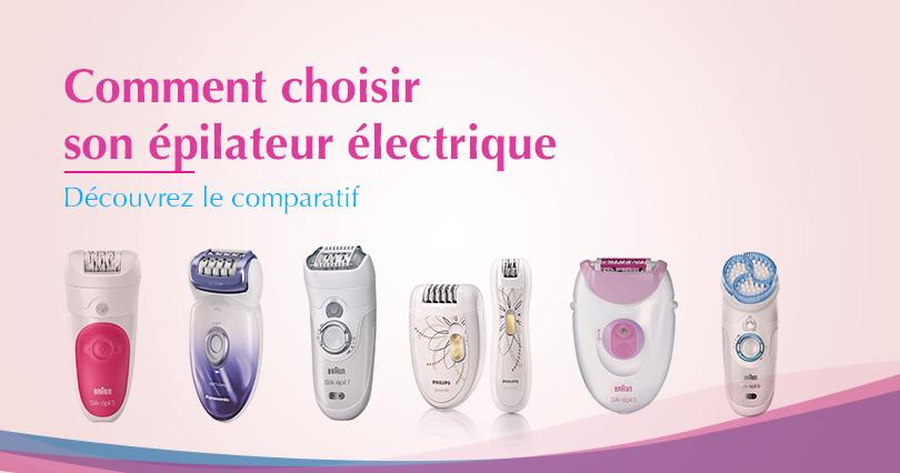 epilateur electrique femme pas cher