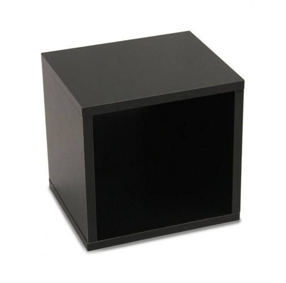 etagere cube noir