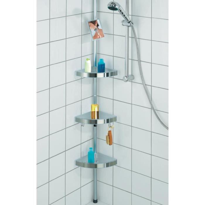 etagere d angle extensible pour douche