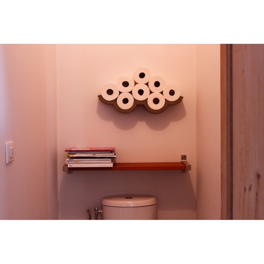 etagere murale wc