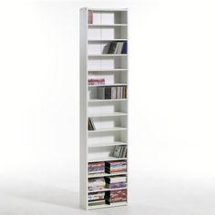 etagere range dvd bois