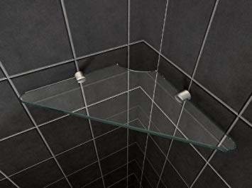 etagere verre douche