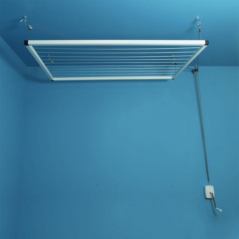 étendage plafond