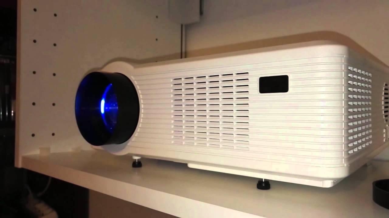 excelvan 3d hd projecteur led 3000 lumens