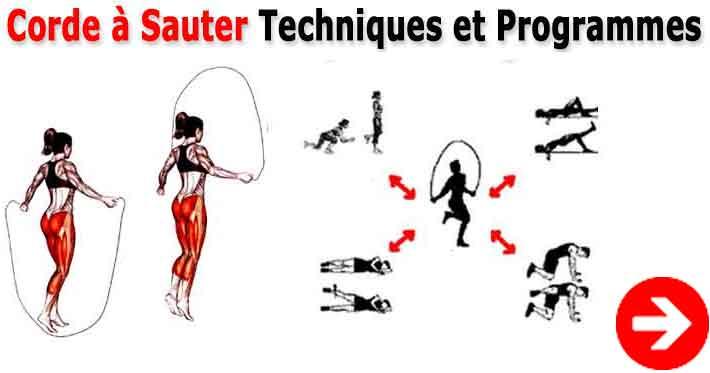 exercice saut à la corde