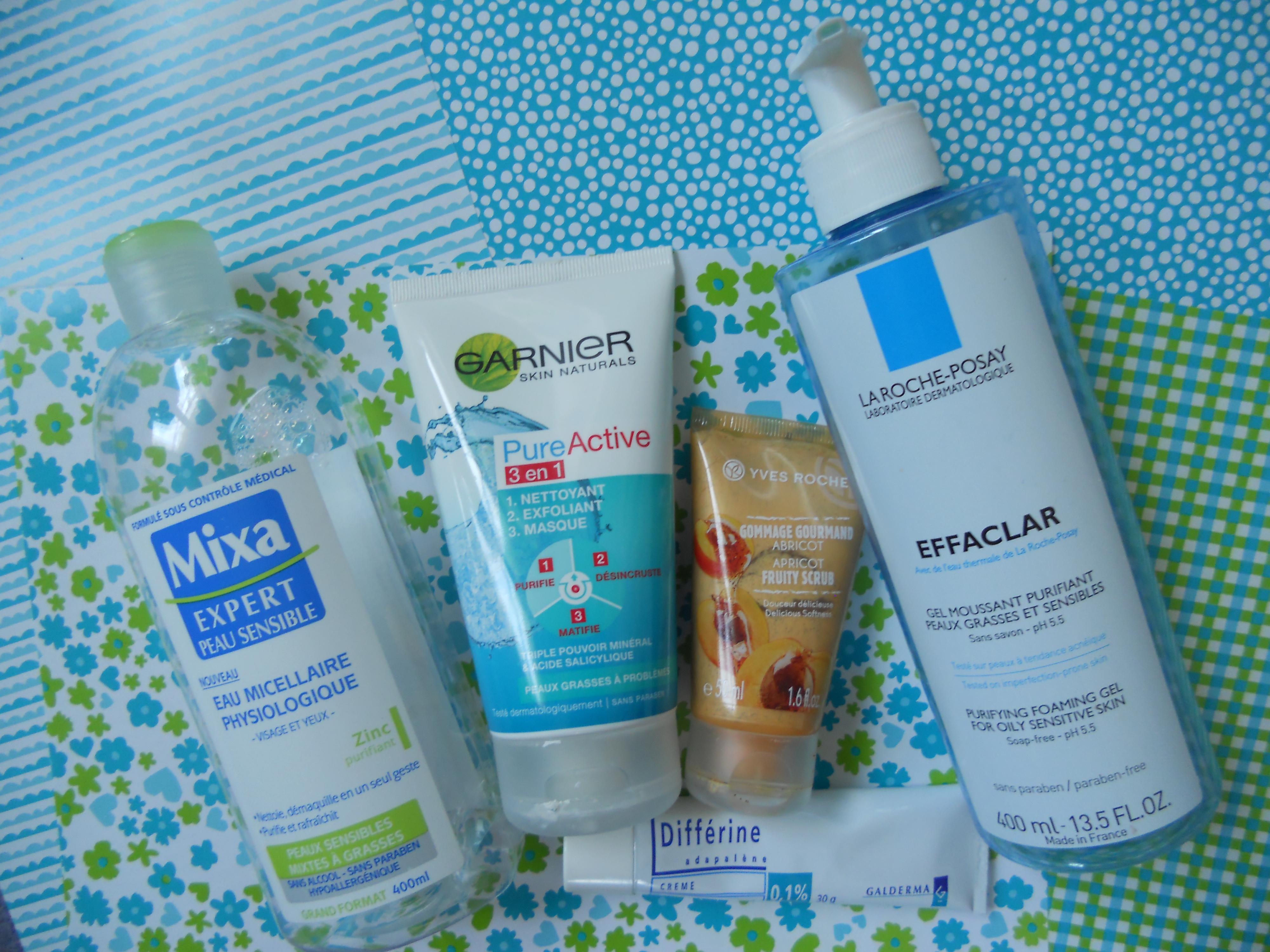 exfoliant peau acnéique