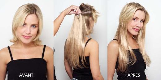 extension cheveux clip naturel pas cher