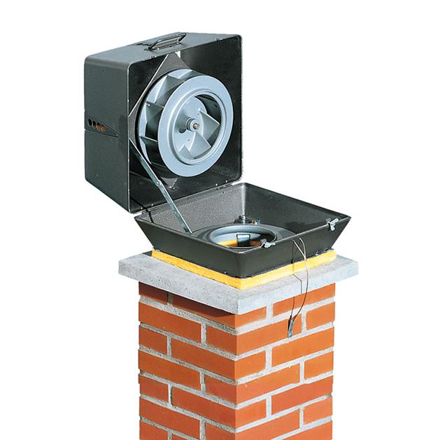extracteur fumee electrique pour cheminee