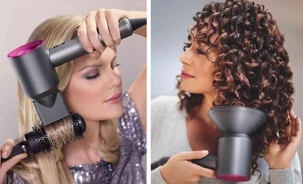 faire des boucles avec un seche cheveux