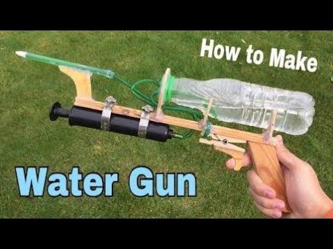 faire un pistolet a eau