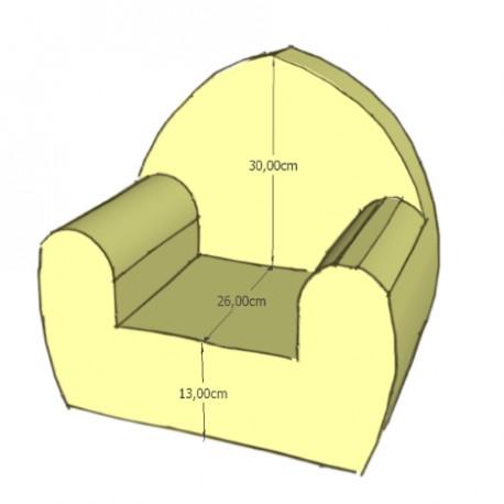 fauteuil club mousse