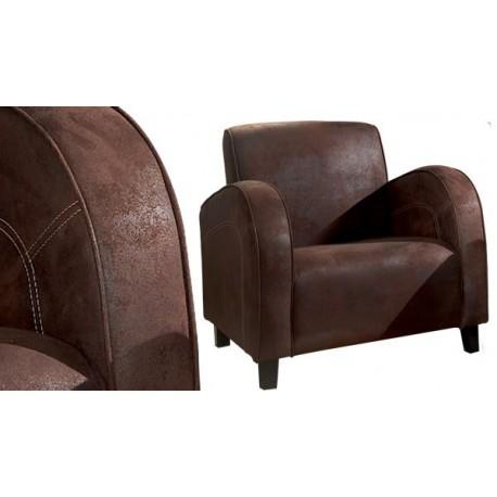 fauteuil microfibre