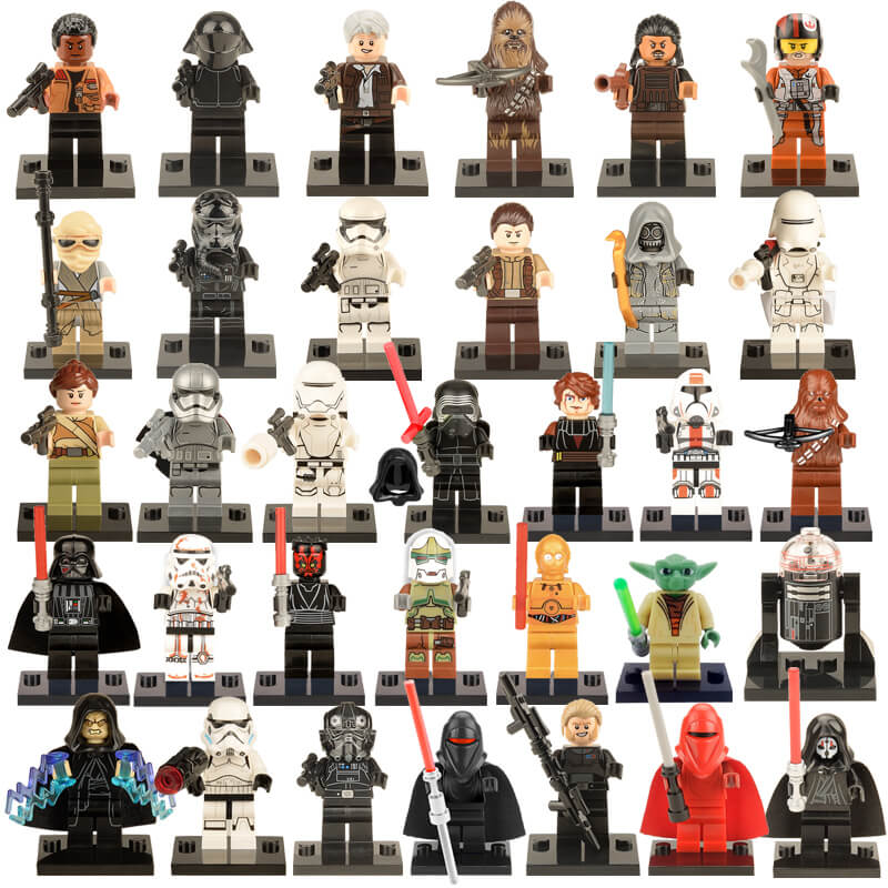 figurine star wars lego