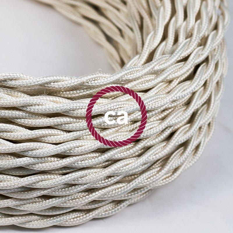 fil electrique en tissu
