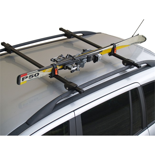 fixation ski barre de toit