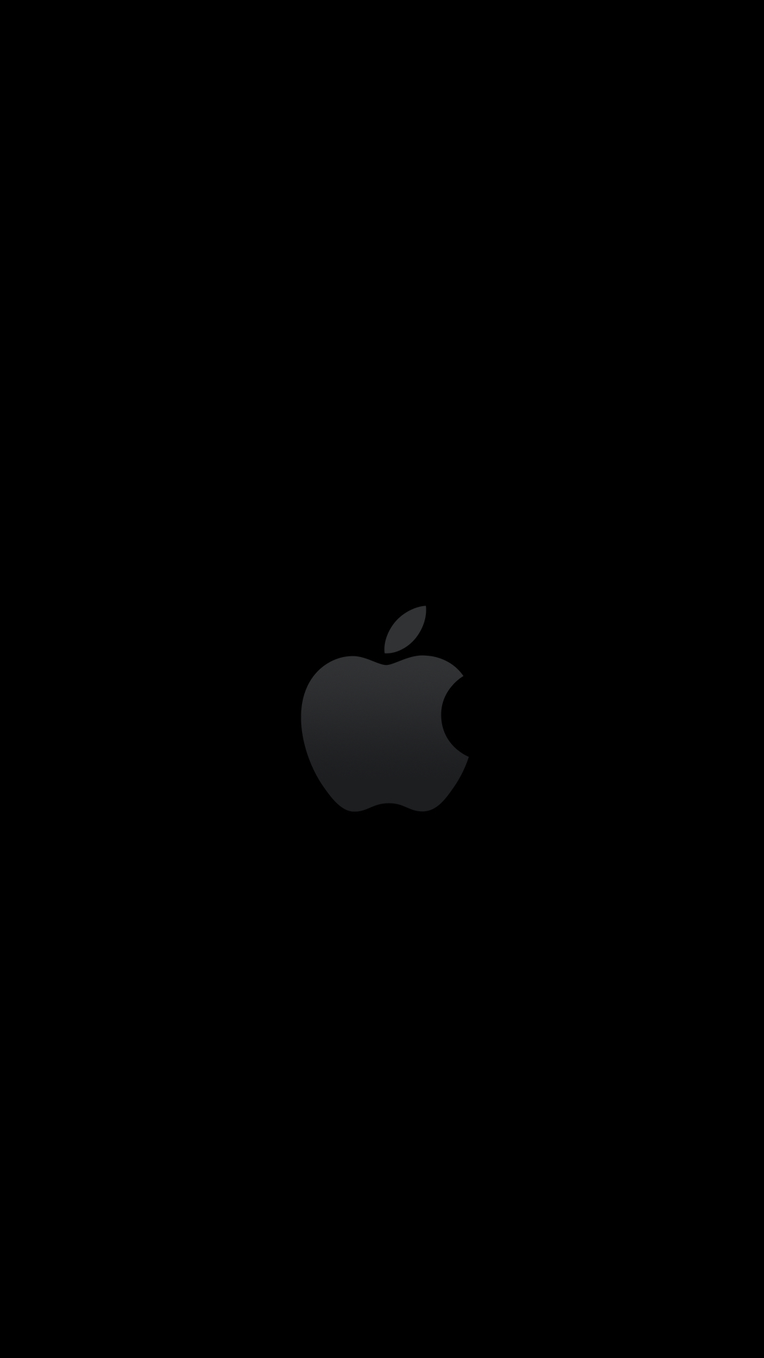 fond ecran noir iphone