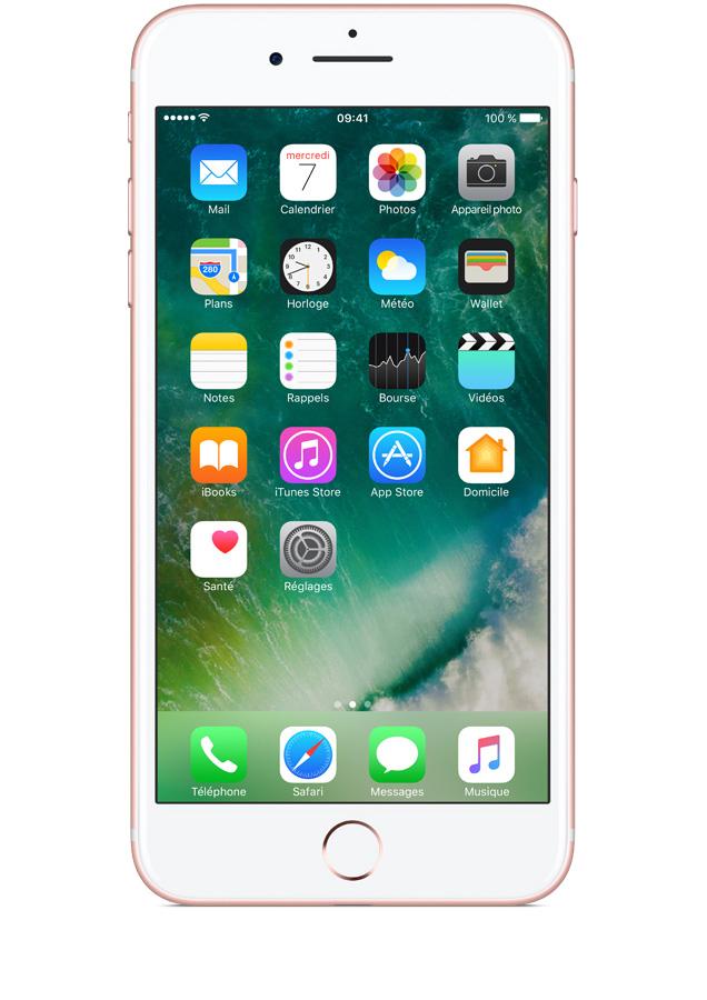 forfait iphone 7 plus