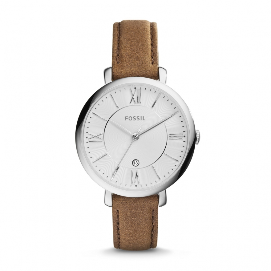 fossil montre femme bracelet cuir