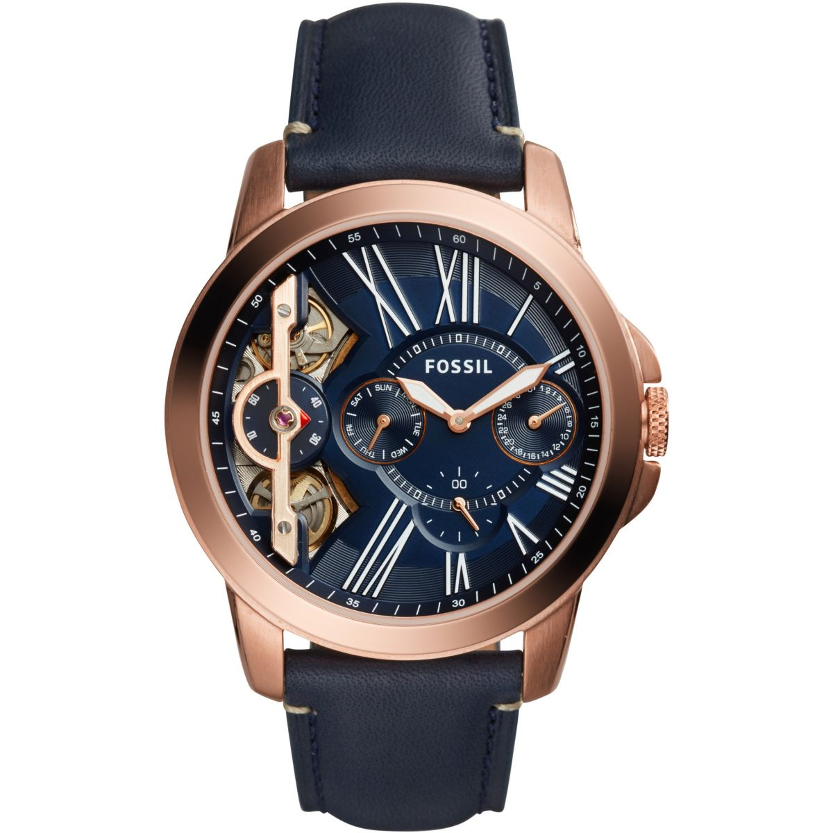 fossile montre homme