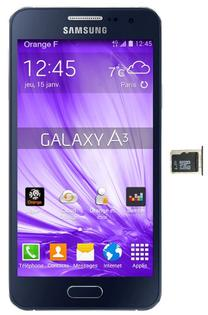 galaxy a3 2016 carte sd