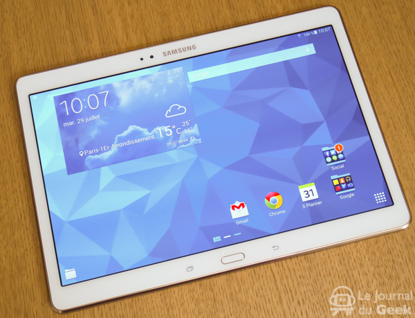 galaxy tab s 10 pouces