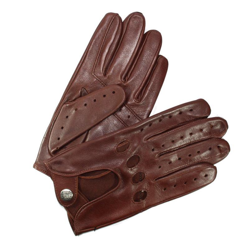 gants conduite cuir homme