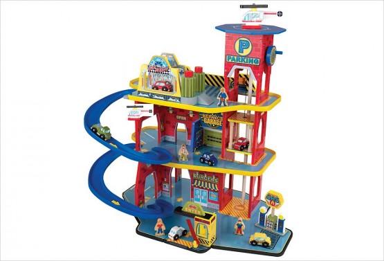 garage pour voiture jouet