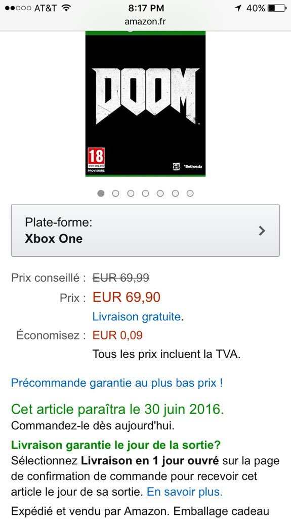garantie amazon.fr