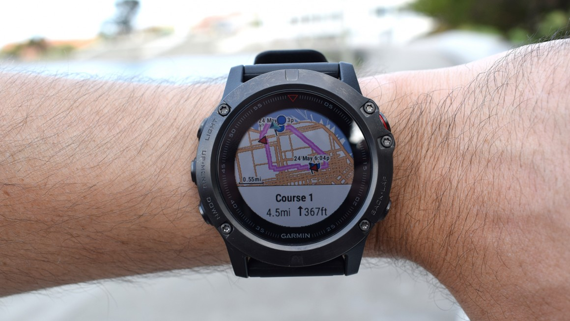 garmin fenix 5x test