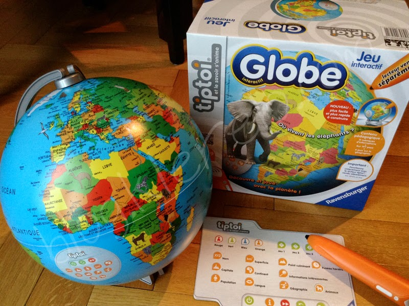 globe terrestre tiptoi