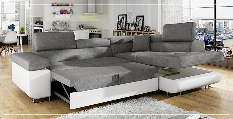 grand canapé d angle convertible