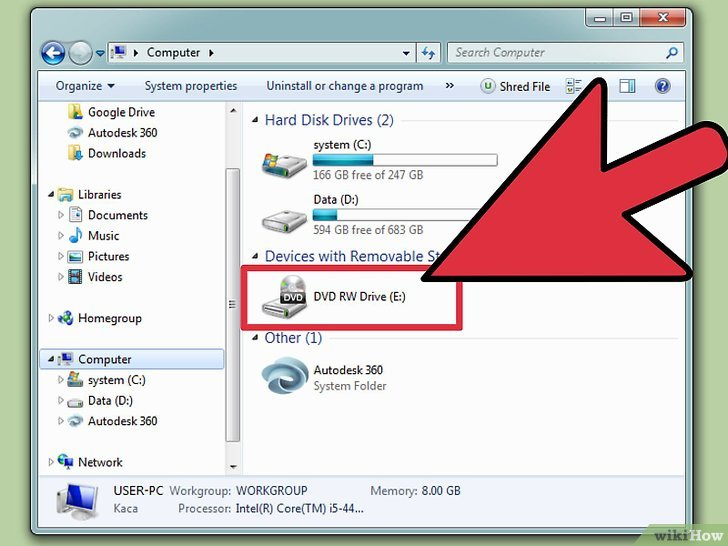 graver un dvd video avec windows 7