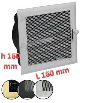 grille air chaud reglable