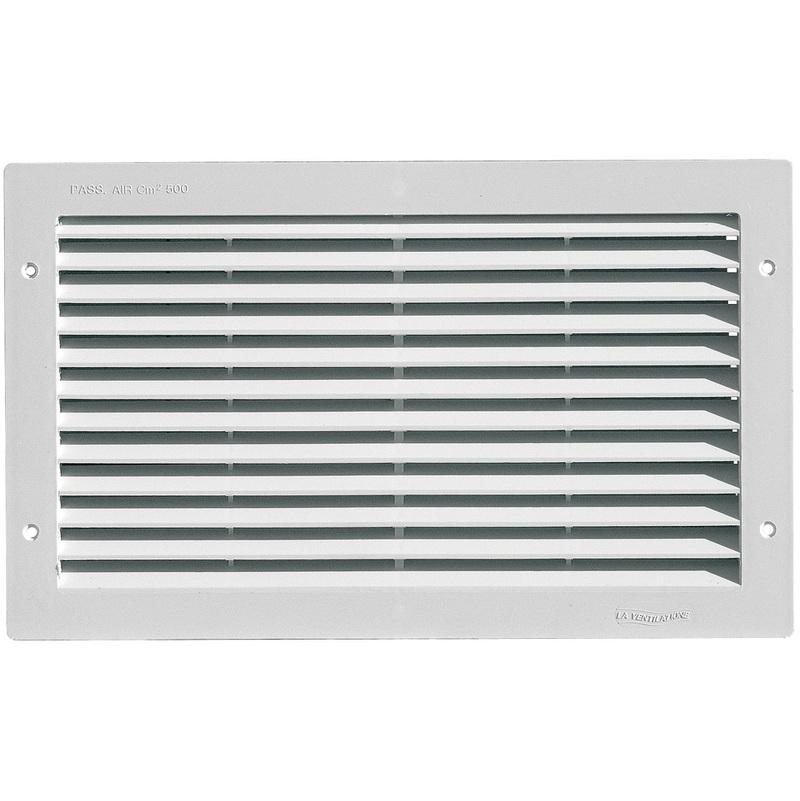 grille ventilation rectangulaire