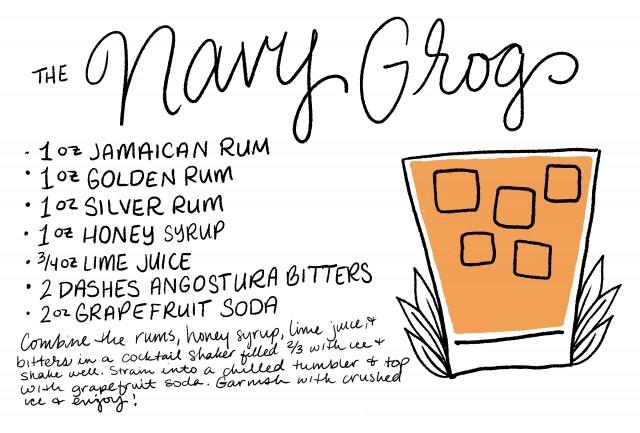 grog ingredients