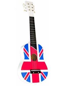 guitare drapeau anglais