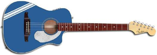 guitare folk 3 4 electro acoustique