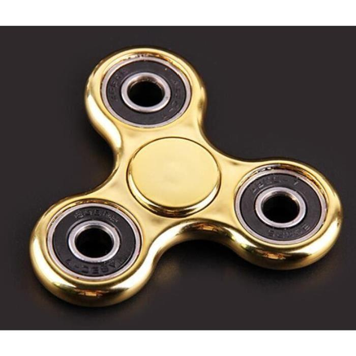 hand spinner couleur or