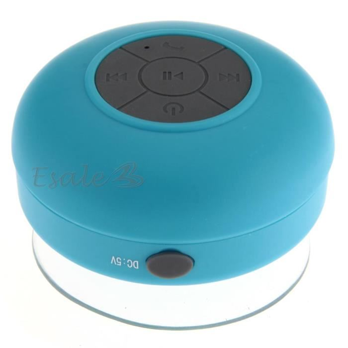 haut parleur bluetooth ventouse