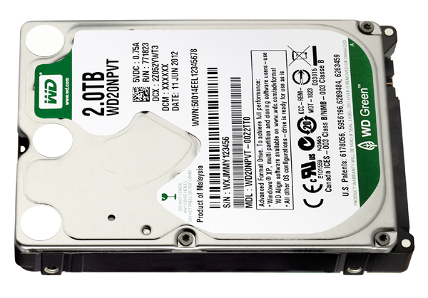 hdd 2.5 2to