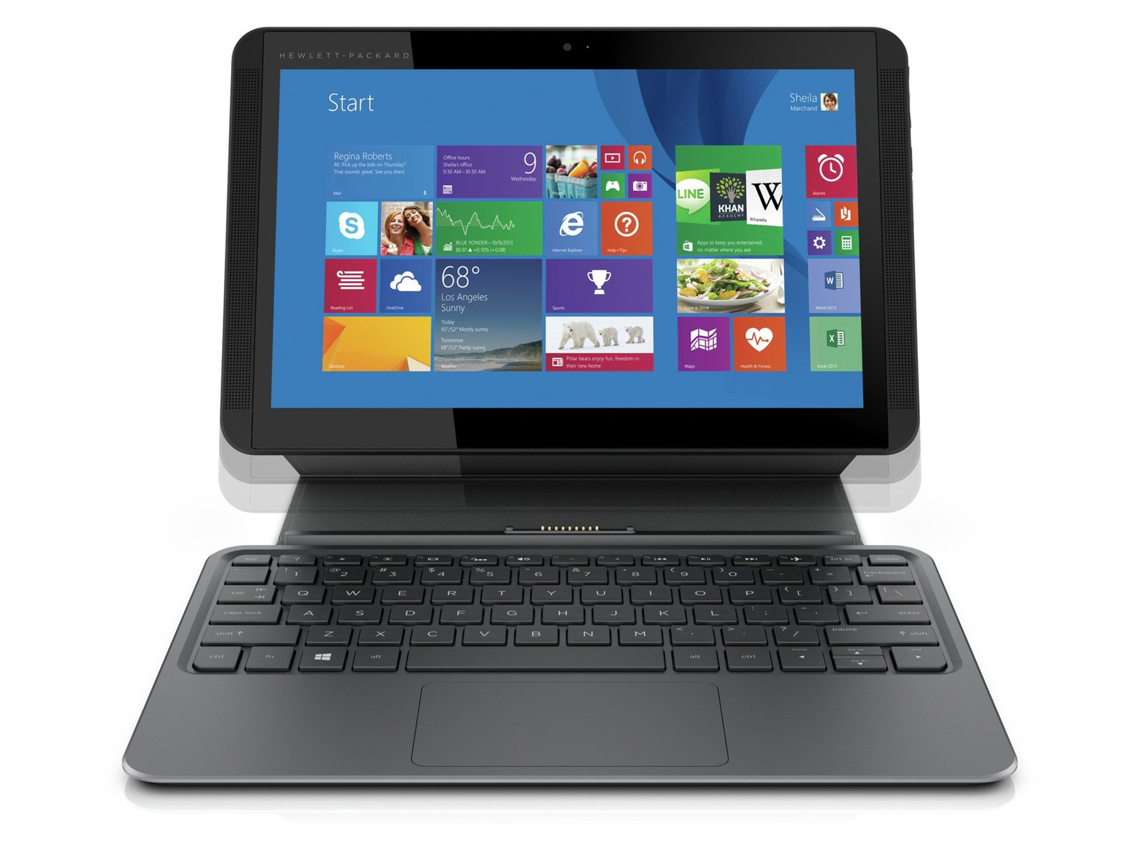 hp pavilion x2 test