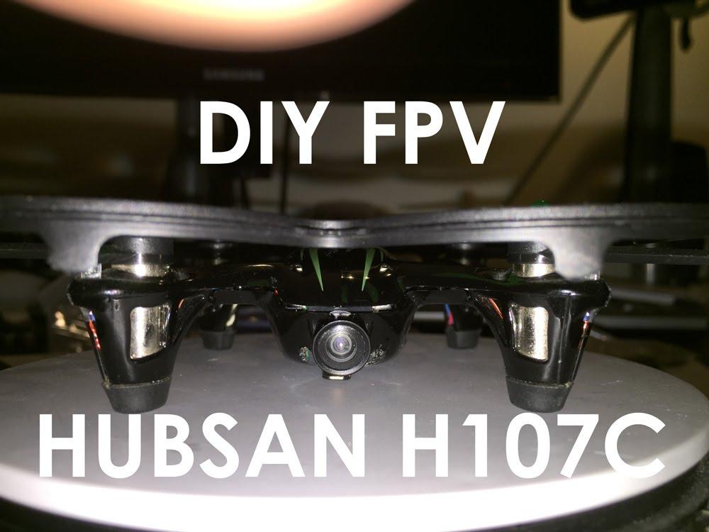 hubsan x4 h107c fpv
