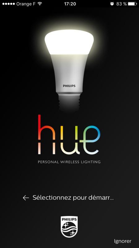 hue ampoule