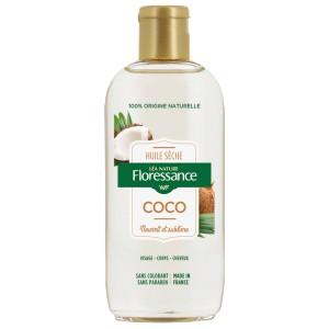 huile de coco seche les cheveux