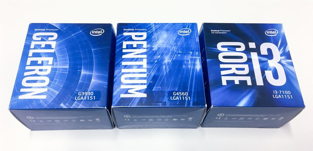intel pentium ou core i3